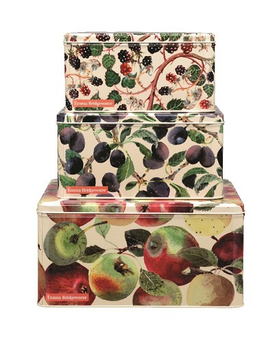 Square Cake Tins s/3 Fruits