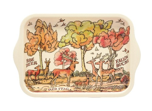 Small Melamine Tray Game Birds