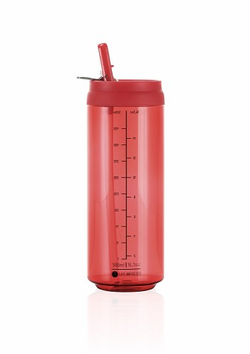 Clear Can'it 500 ml Red