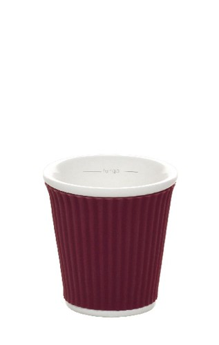 Coffee Cups 8cl Aubergine