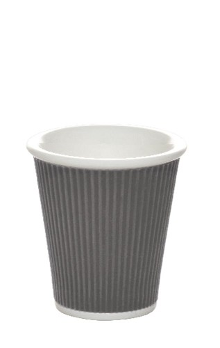 Coffee Cups 18cl Dark Grey