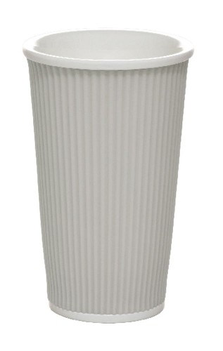 Coffee Cups 45cl Light Grey