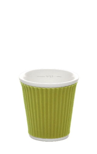 Coffee Cups 8cl Lime