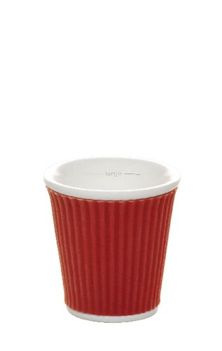 Coffee Cups 8cl Red